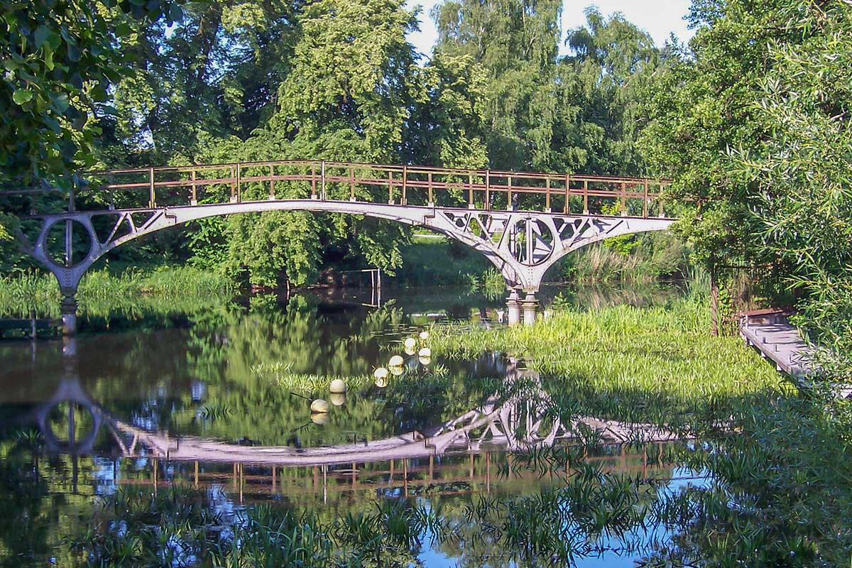 Teufelsbrücke am Finowkanal in Eberswalde
