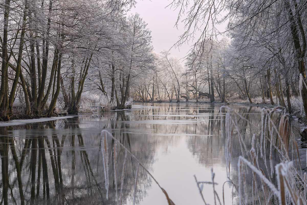 Finowkanal im Winter
