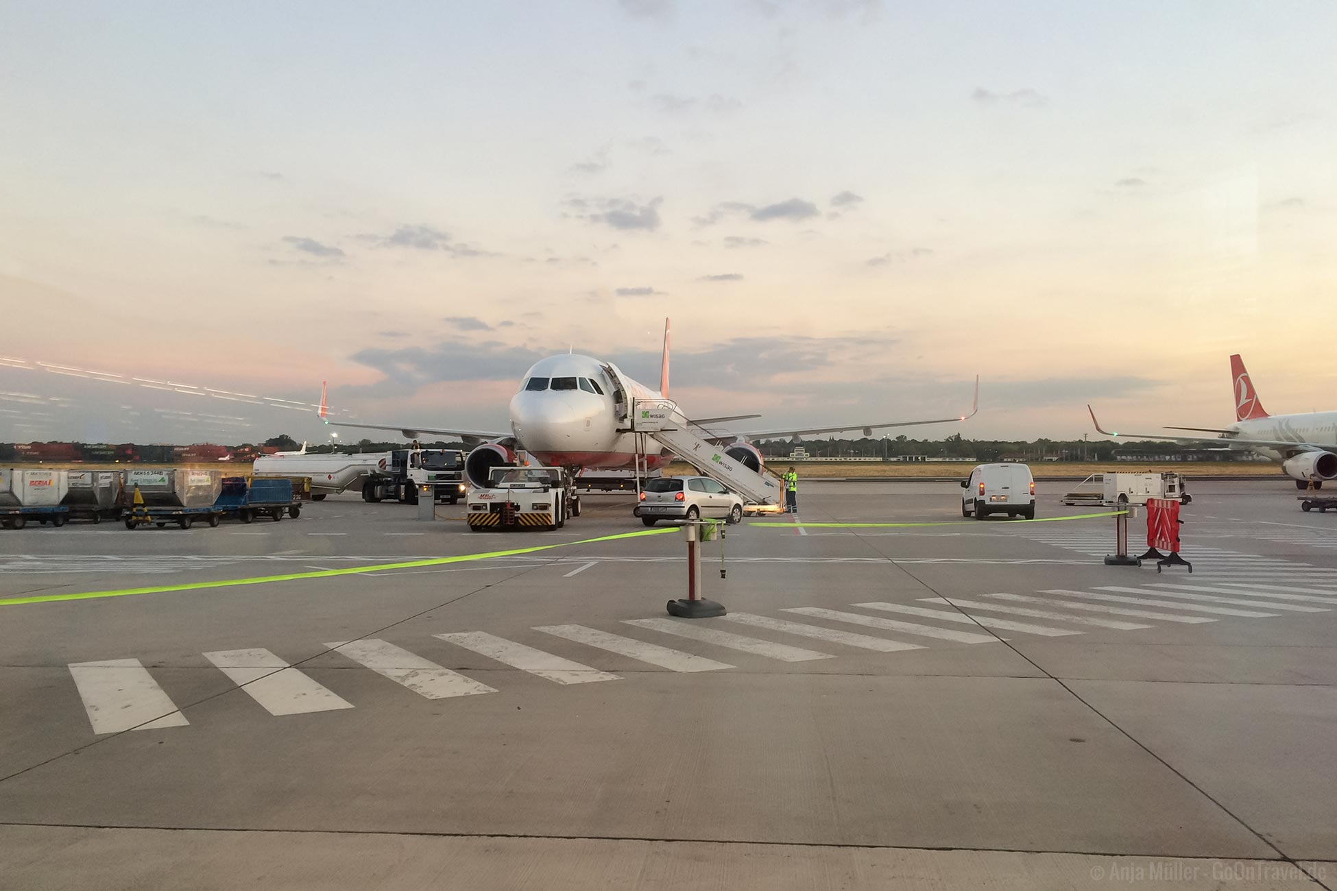 Flughafen Flugzeug