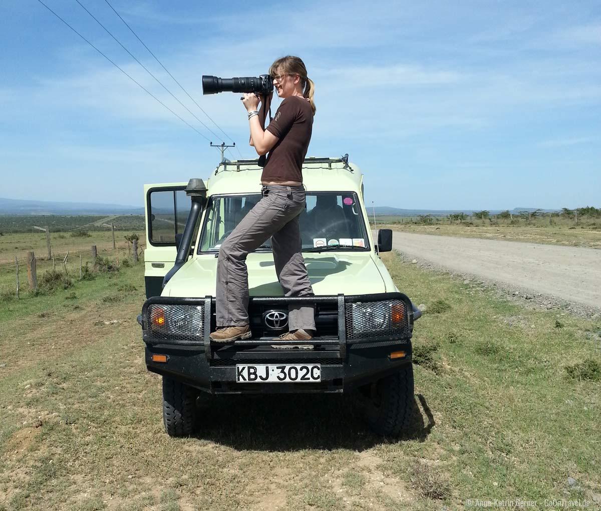 Fotografieren auf Safari leicht gemacht
