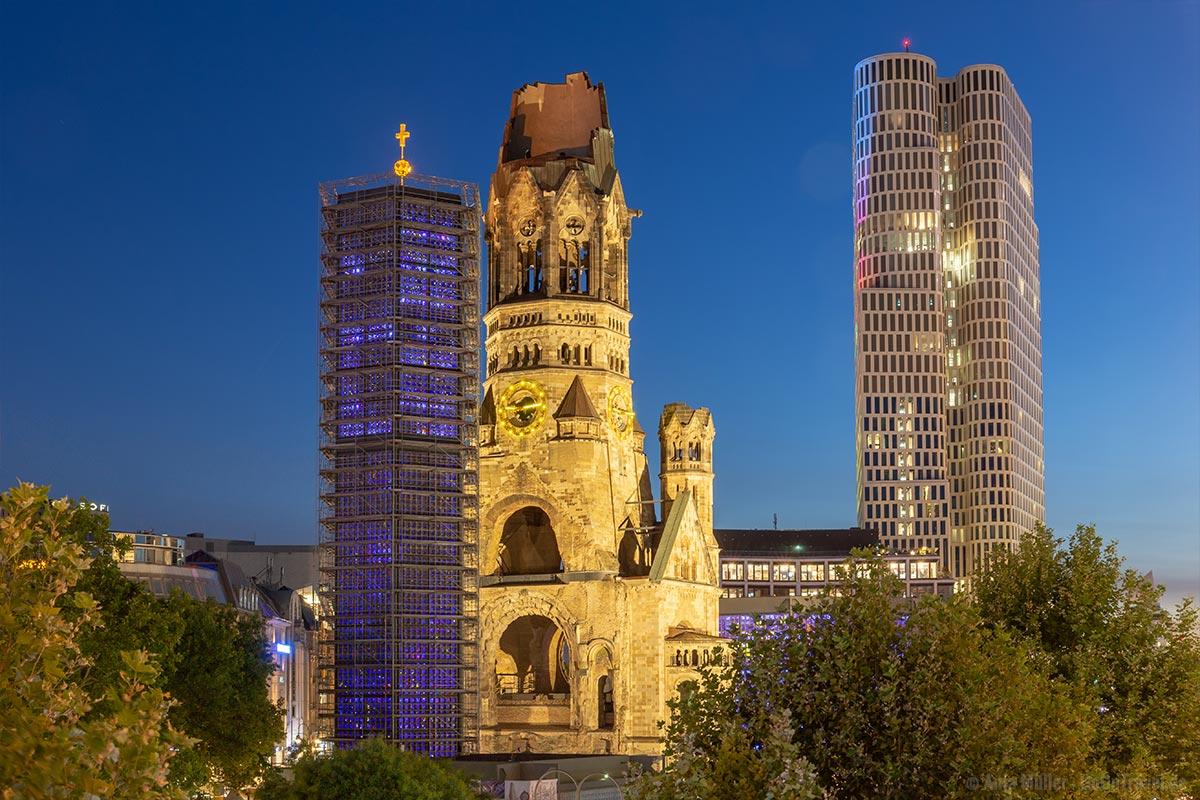 Gedächntiskirche mit dem Upper West Tower im Hintergrund
