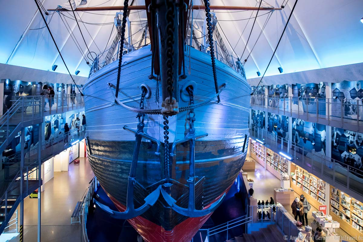 Expeditionsschiff Fram
