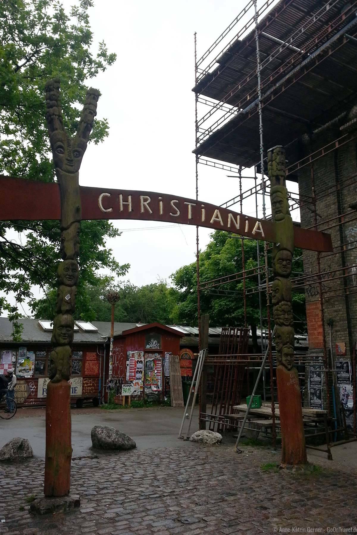 Haupteingang Christiania