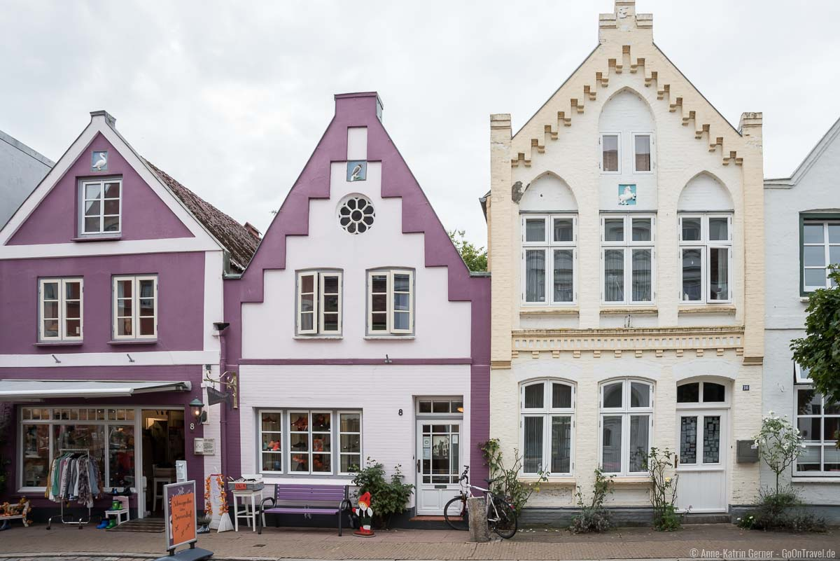kleine Geschäfte in der Prinzenstraße laden zum Shoppen ein