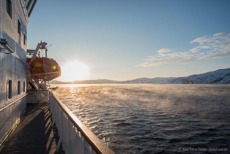 Blick über die Barentsee