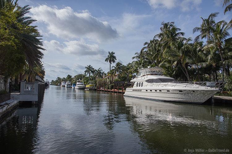 Ft. Lauderdale, auch bekannt als das Venedig der USA