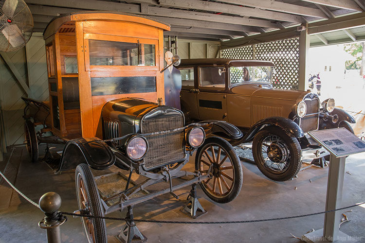 Die Garage von von Henry Ford