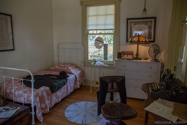 Blick in ein Zimmer im Haus von Henry Ford