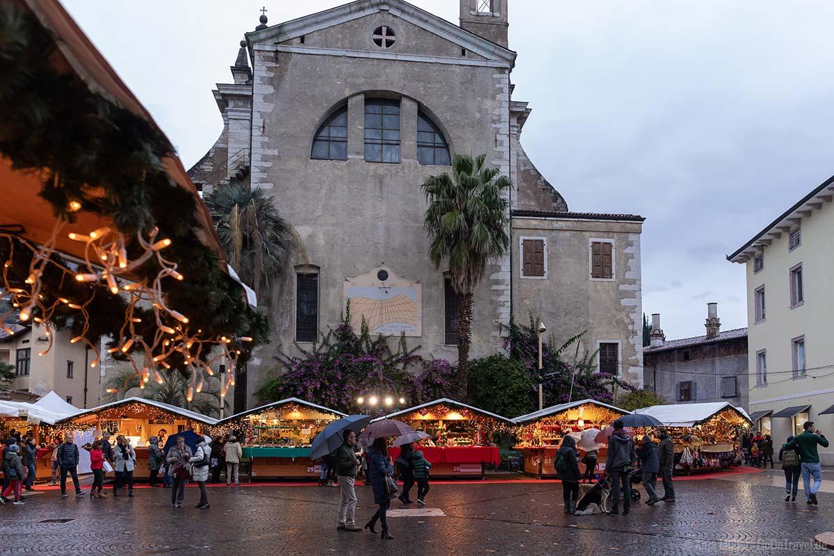 Der Weihnachtsmarkt in Arco