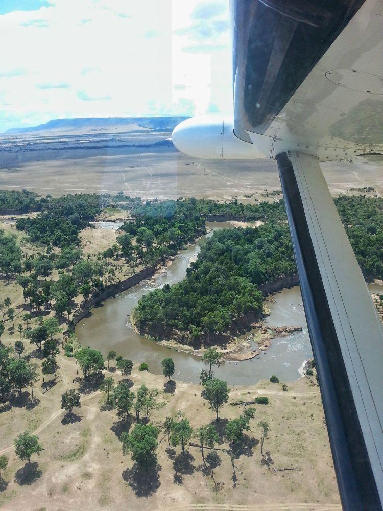 Mara River in Sicht