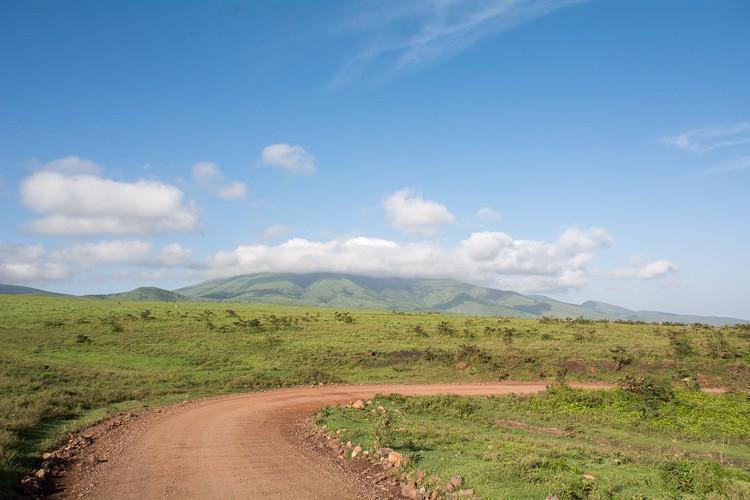 im Ngorongoro Schutzgebiet