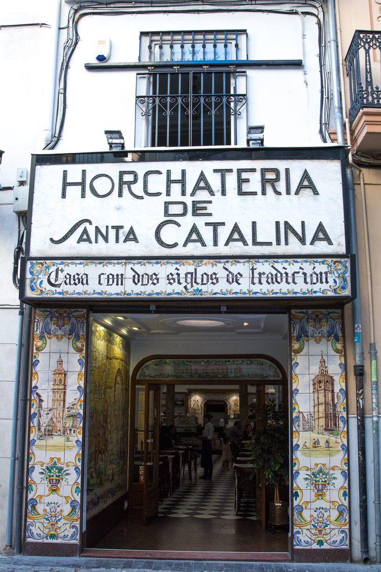 Santa Catalina im Herzen von Valencia