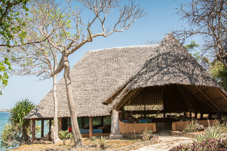 Beach Restaurant Pilli Pipa auf Wasini Island