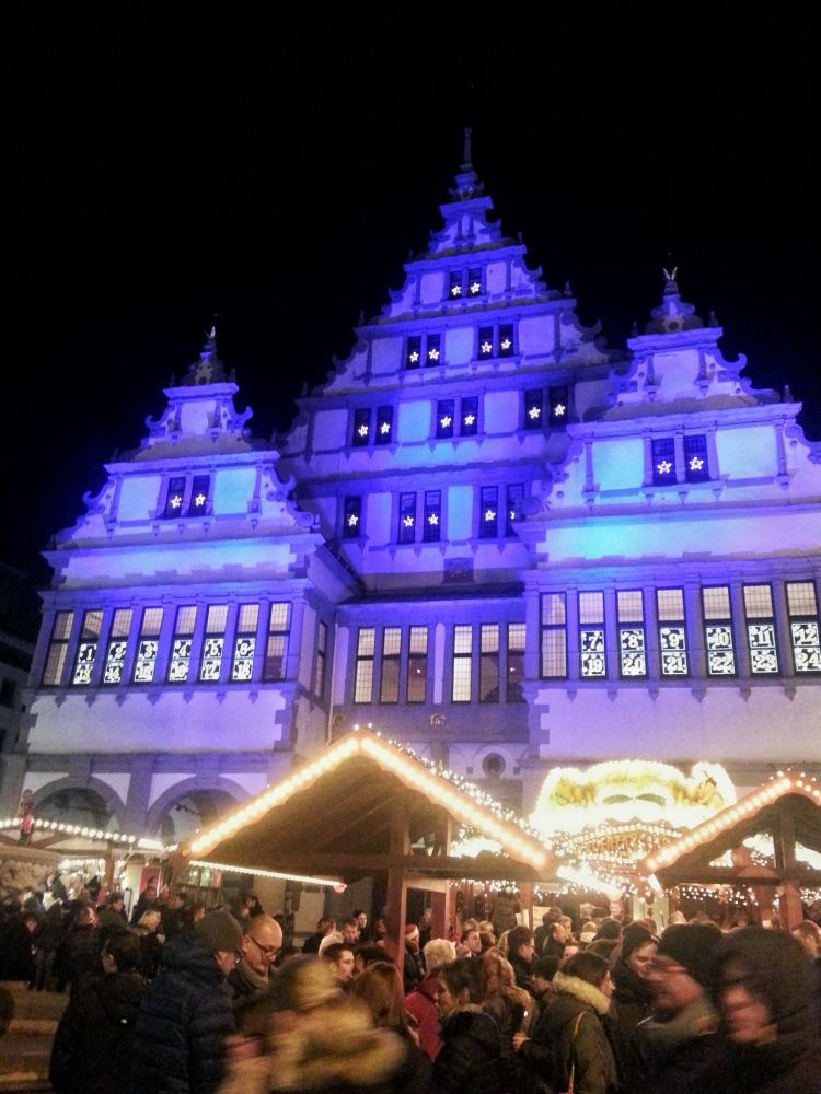 Rathaus Paderborn als Adventskalender