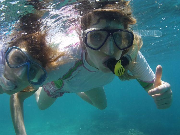 Schnorcheln am Riff