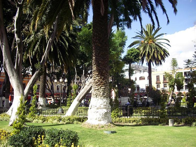 Zócalo in Puebla