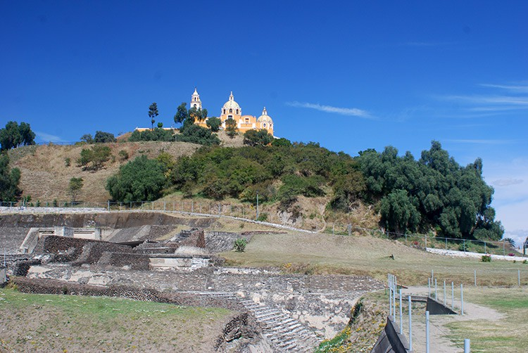 Pyramide von Cholula