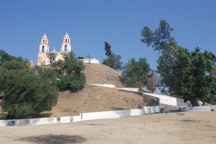 Die Kirche von Cholula