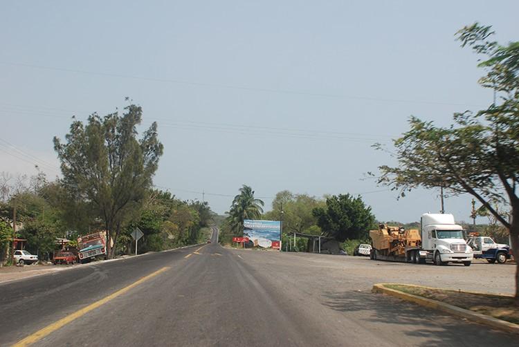 Unterwegs zwischen Puebla und Veracruz