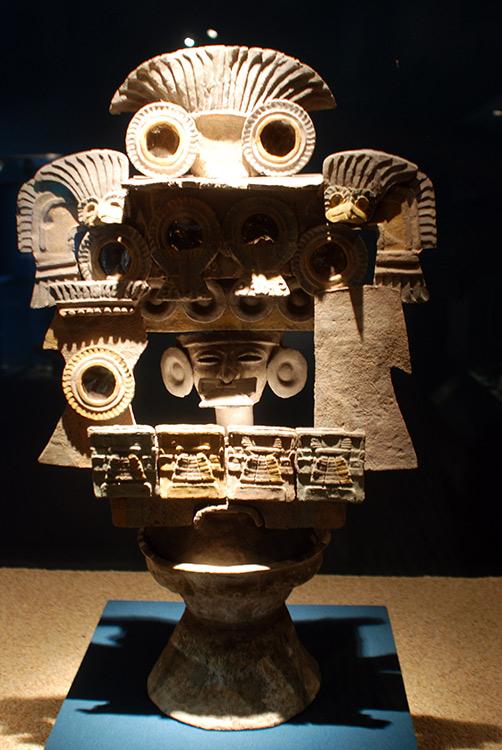 im Museum von Theotihuacan