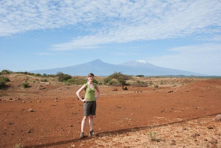 Kilimanjaro in Sicht
