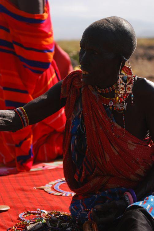 auf dem Maasai Markt
