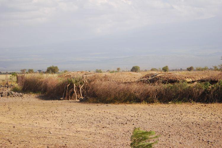 Maasai Dorf