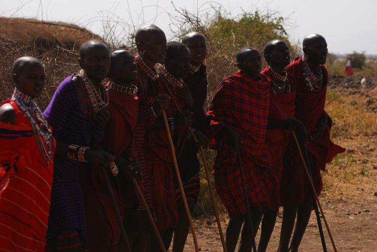 zu Besuch bei den Maasai