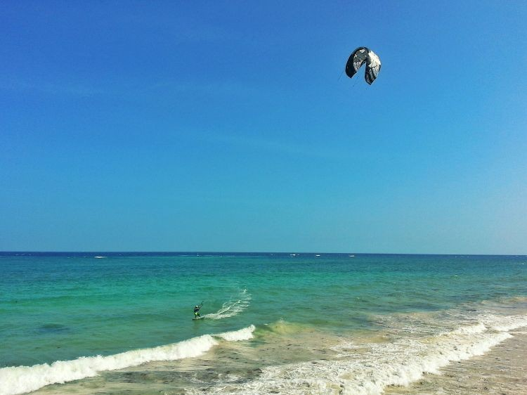 Kite Surf Paradies Diani Beach