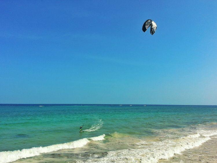 Kite Surf Paradies Diani Beach