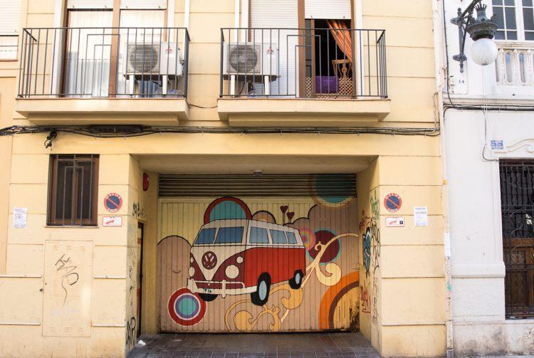 Street Art im Stadtteil El Botànic