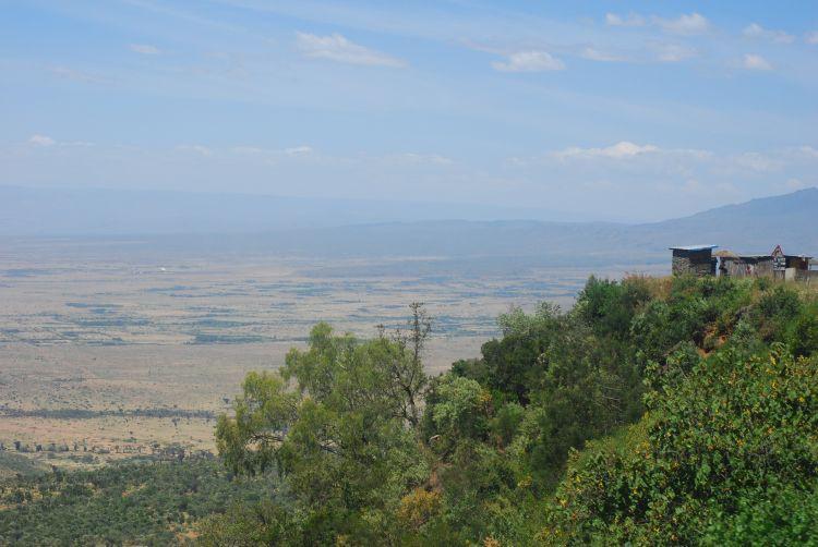 Blick über den großen Afrikanischen Grabenbruch