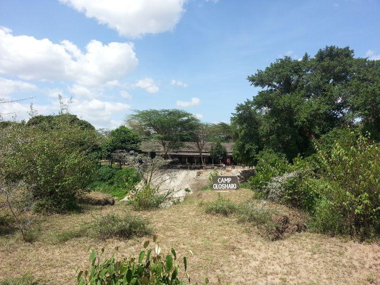 Camp Oloshaiki am Talek Fluss