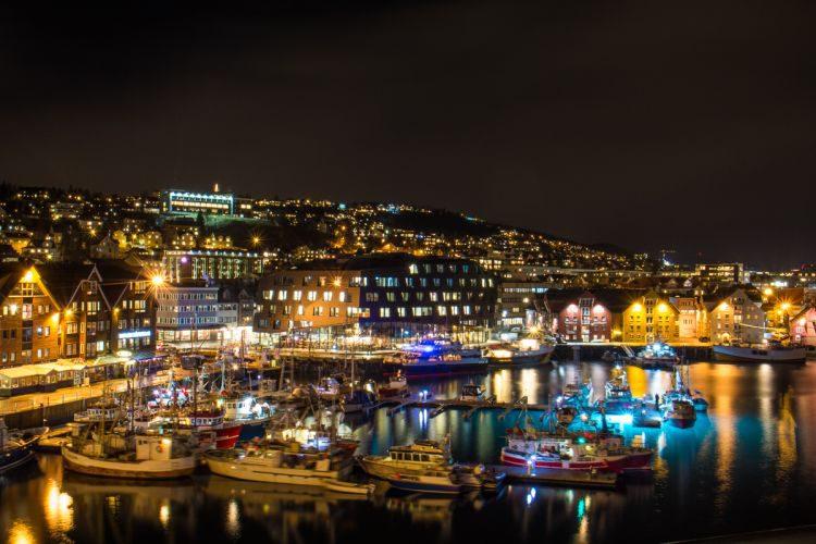 Hafen von Tromsö