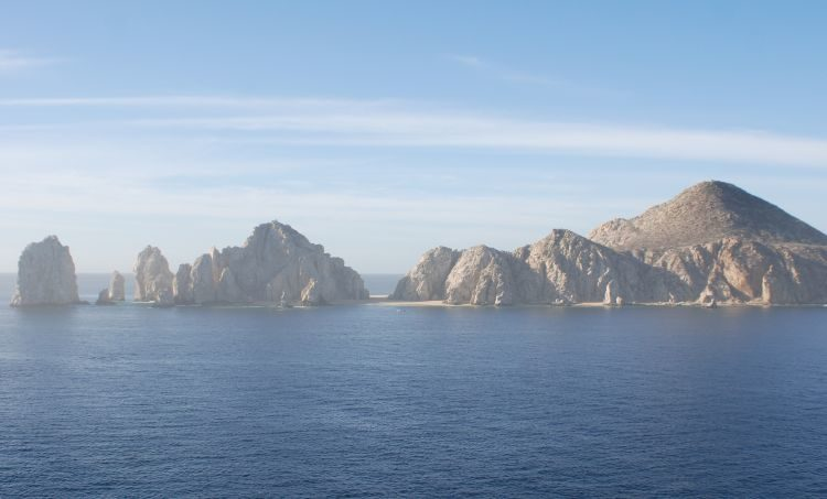 die berühmten Felsformationen vor Cabo San Lucas