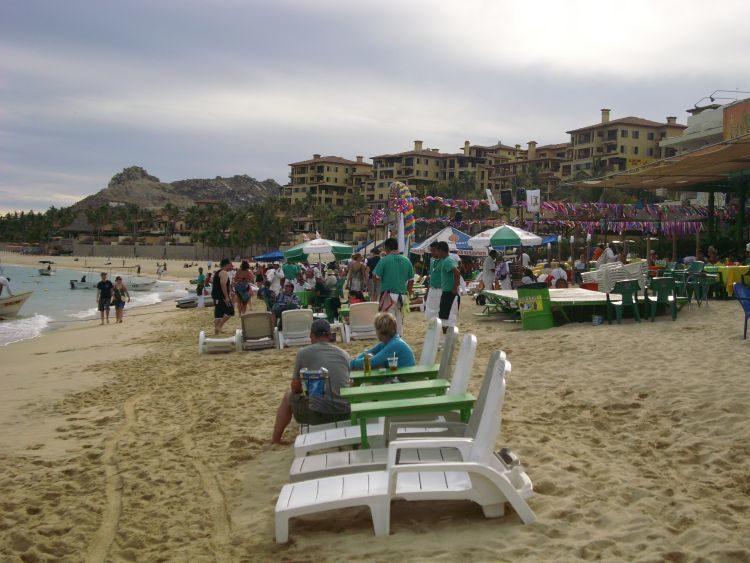 Strandleben Cabo San Lucas