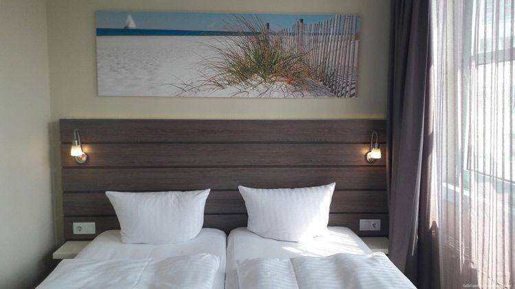 Doppelzimmer im Hotel Kiel by Golden Tulip