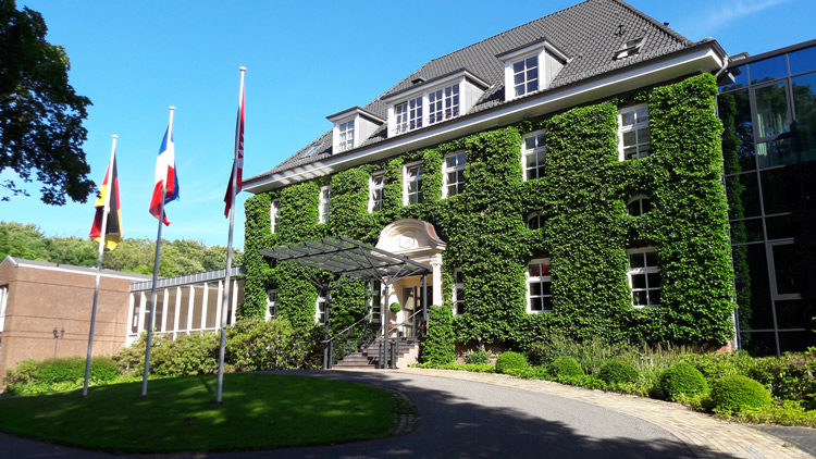 Eingang Hotel Kieler Kaufmann