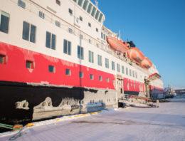 Die Postschiffroute im Winter – mit der Hurtigruten von Kirkenes nach Bergen