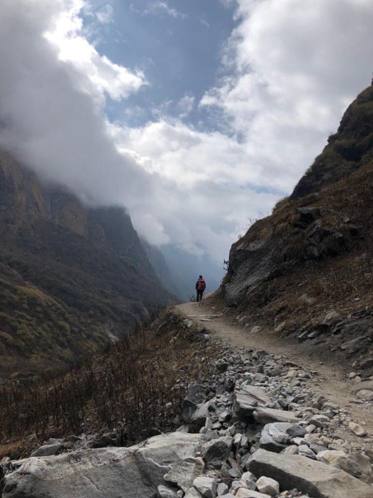 Luisa Nowak: unterwegs im Himalaya
