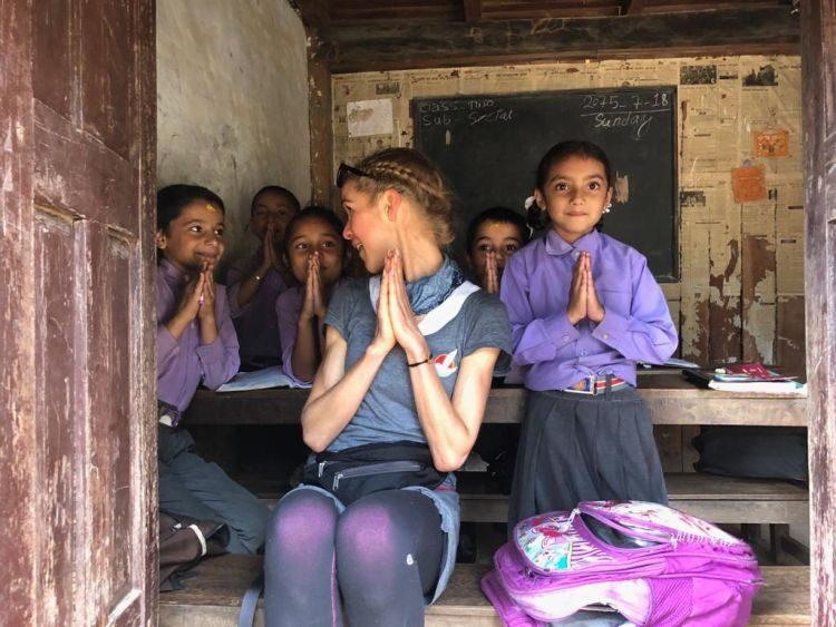 Luisa Nowak: Luisa´s spontaner Schulbesuch