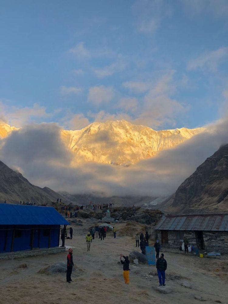 Luisa Nowak: Annapurna Base Camp