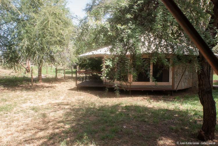 Zelt im Ashnil Samburu Camp