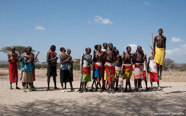 Willkommenstanz der Samburu
