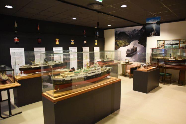 Ausstellung im Hurtigruten Museum