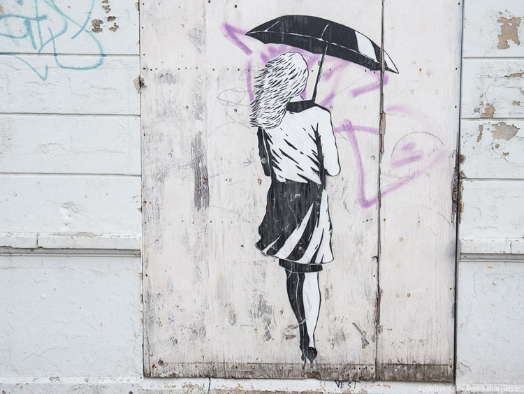Street Art in Bergen in Hafennähe