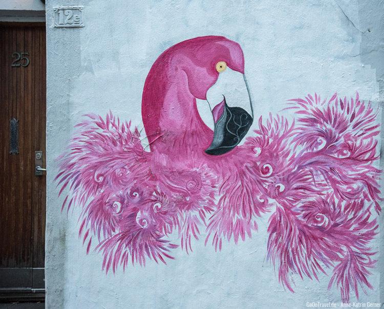 Street Art Postschiffroute - Bergen