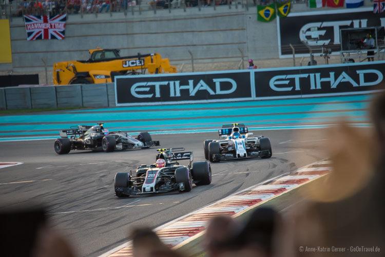 Formel 1 Finale in Abu Dhabi