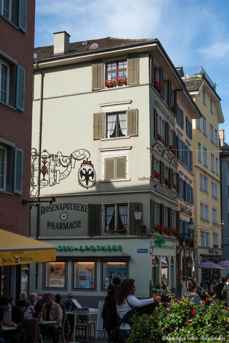 das Niederdorf ist nicht nur bei Touristen beliebt