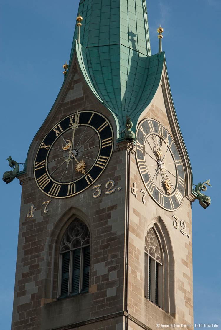 Kirchturm Fraumünster